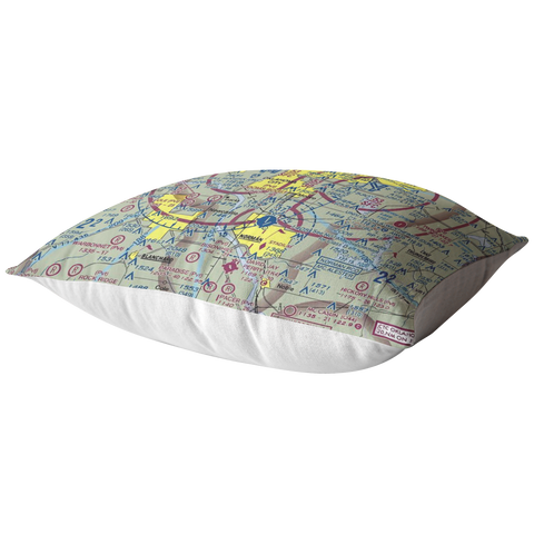 Image of Throw Pillow |  Oklahoma City, Oklahoma VFR Sectional