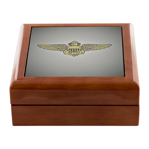 Premium Display Case | U.S. Navy - Pilot Wings