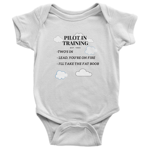 Pilot in Training - 3-Rules Bodysuite