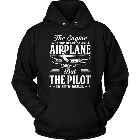 The Pilot is it's Soul - EightOut Apparel Hoodie