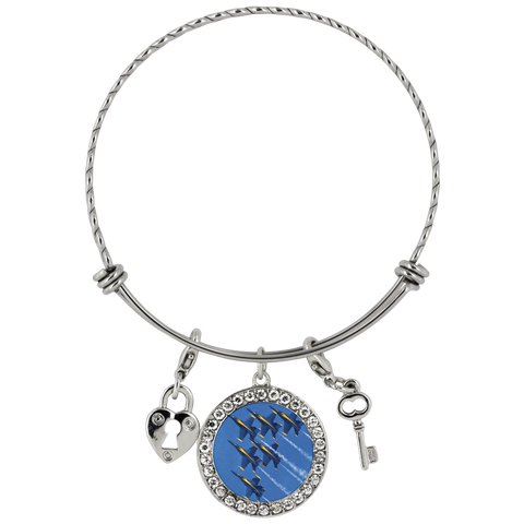 Image of Blue Angels Chloe Bracelet