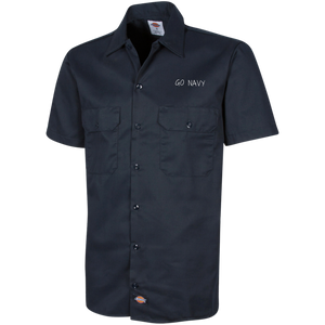 Workshirt | Go Navy | 1574 Dickies Men's Short Sleeve