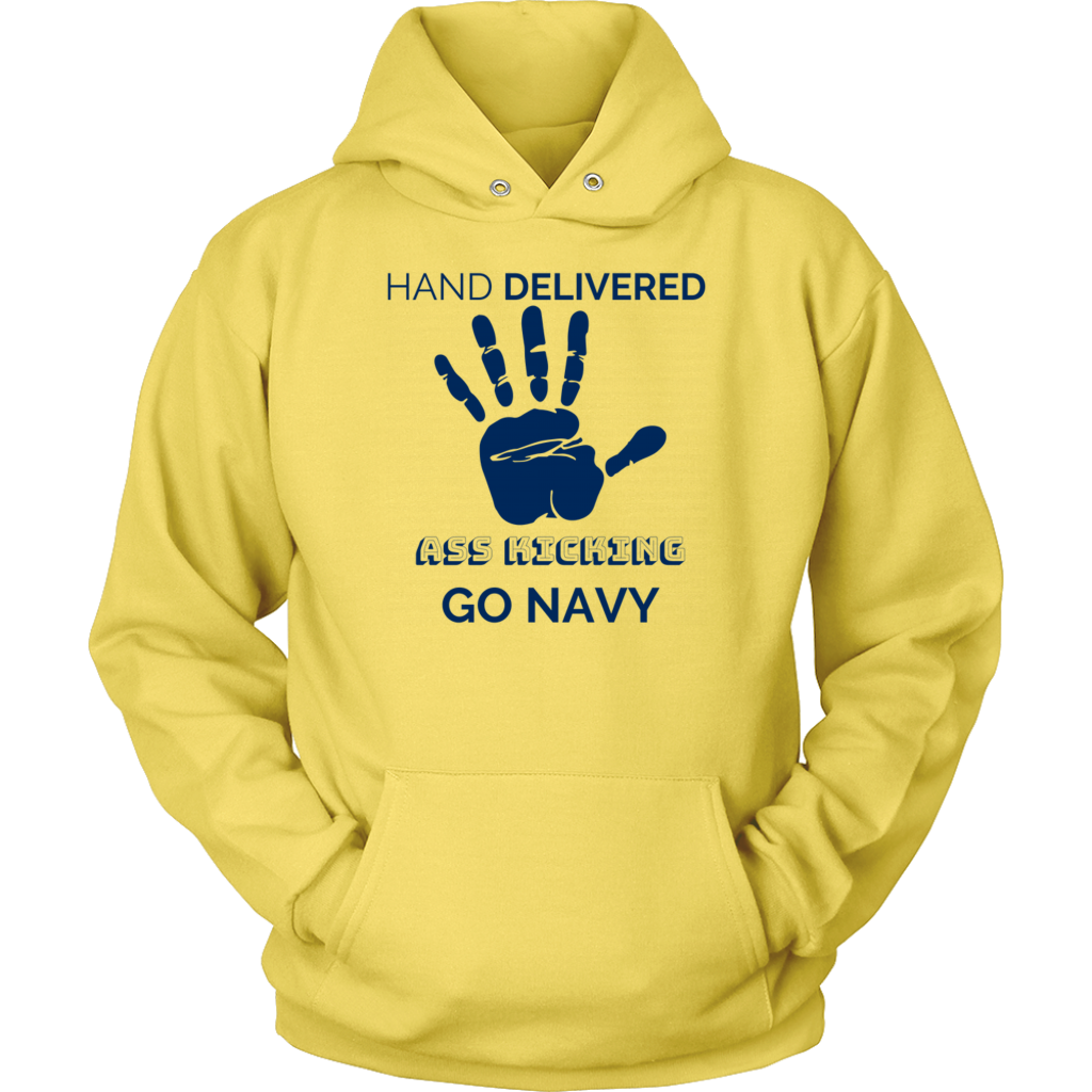 "Go Navy - ""Hand Delivered"" Hoodie"