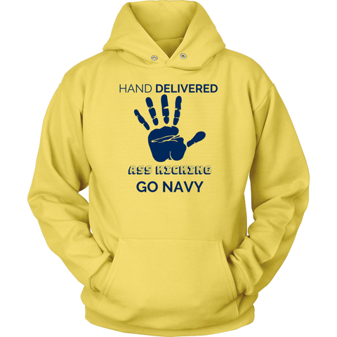 "Image of Go Navy - ""Hand Delivered"" Hoodie"