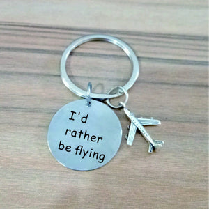 Key Chain | Aviation Silver Key-Ring