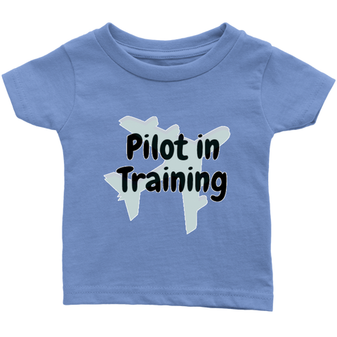 Image of Pilot in Training - Infant T-Shirt