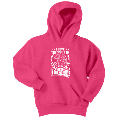 Image of Jet Fuel In The Morning - EightOut Apparel Youth Hoodie