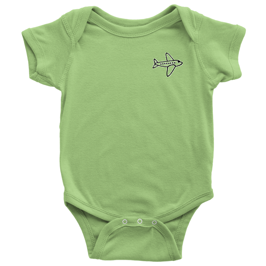 Baby Bodysuit - Small plane