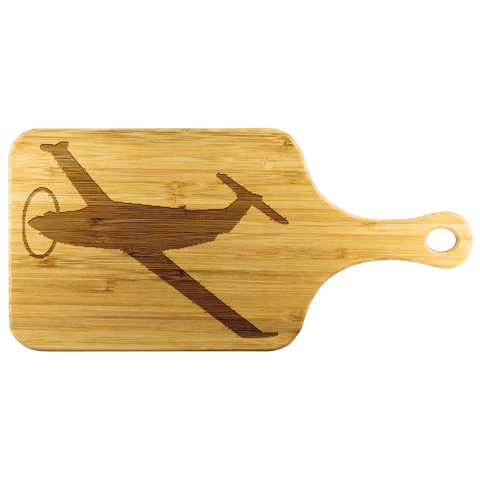 Premium Bamboo Cutting Board | PC-12_U-28 Silhouette