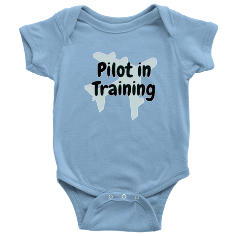 Image of Pilot in Training - Baby Bodysuit