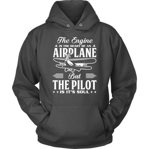 Image of The Pilot is it's Soul - EightOut Apparel Hoodie