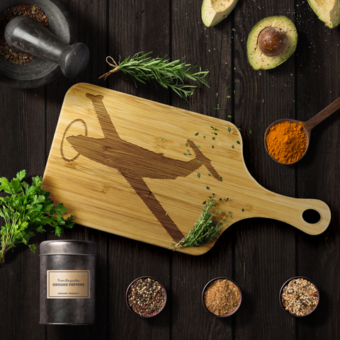 Image of Premium Bamboo Cutting Board | PC-12_U-28 Silhouette