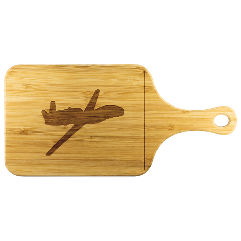 Image of Premium Bamboo Cutting Board | RQ-4 Silhouette