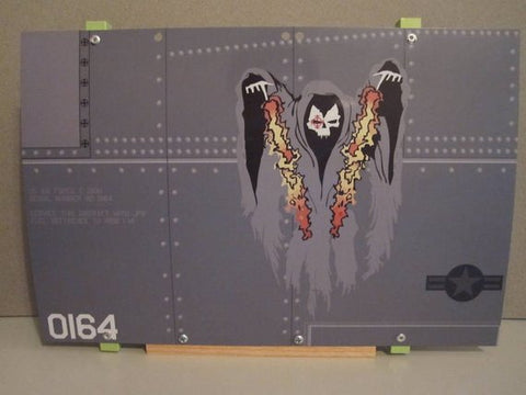 AC-130U Gunship Nose Art Panel