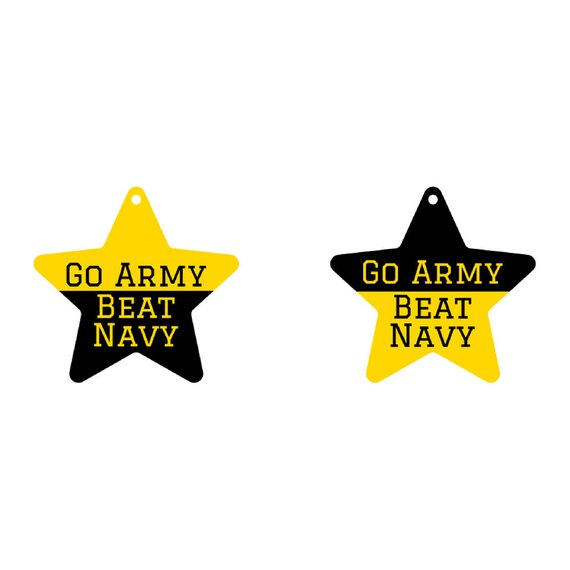 "Christmas Ornament | ""Go Army - Beat Navy""  Ornament"