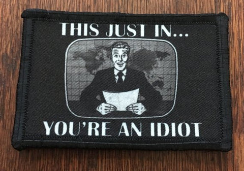 "Image of Morale Patch - ""This Just In..""2x3"" Patch"