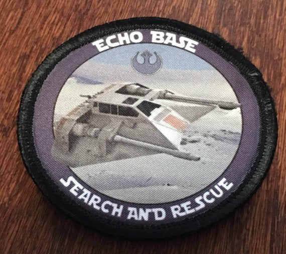 "Morale Patch - "" Echo Base Search and Rescue"" 3"" Circle Patch"