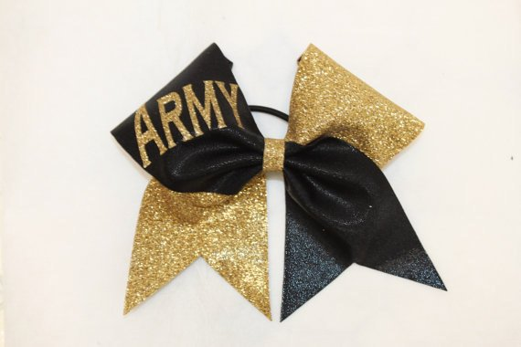 Army Cheer bow