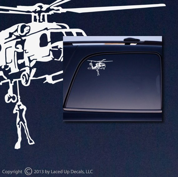 Decal - Seahawk Rescue Helicopter