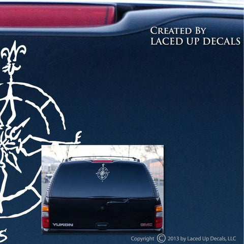 Decal - Compass Rose