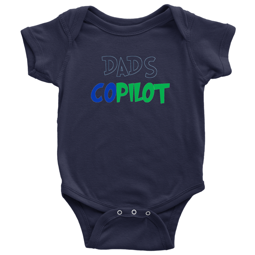 Dad's CoPilot- Baby Bodysuit