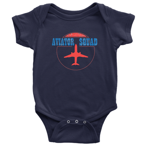 Image of Aviator Squad Baby Bodysuit