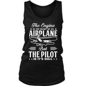 The Pilot is it's Soul - EightOut Apparel Women's District Tank