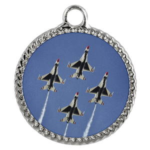 Thunderbirds Deco Coin Necklace