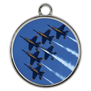 Blue Angels Standard Coin Necklace