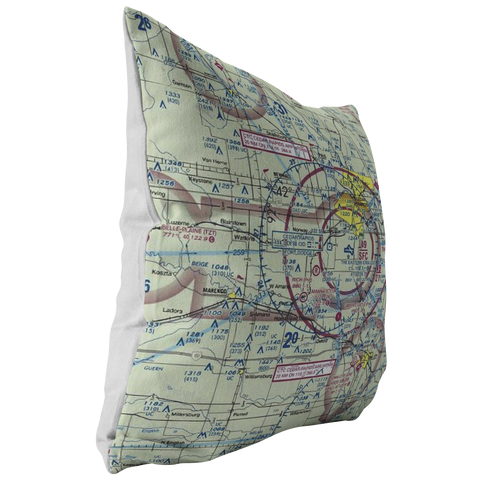 Image of Throw Pillow |  Cedar Rapids, Iowa VFR Sectional