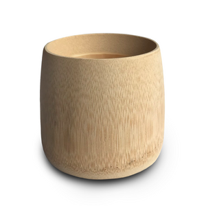 Natural eco-friendly BAMBOO CUP suitable for vegans