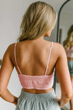 Pink Sunrise to Sunset Lace Bra