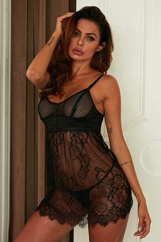 Bad Intentions Babydoll set