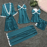 Nightwear collection 5 pieces suit