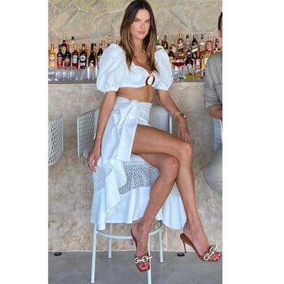 Alessandra Ambrosio Loves Her Tan Catenas