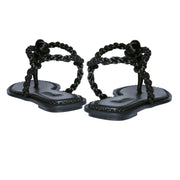 Thory Black Sandal (w)