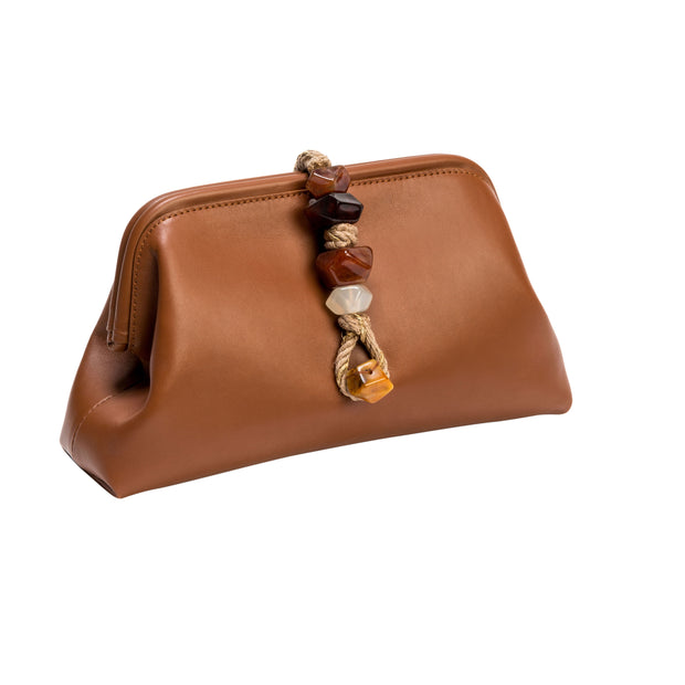 Maia Tan Pouch Bag
