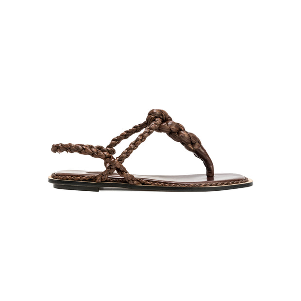 Thory Umber and Dark Brown Sandal