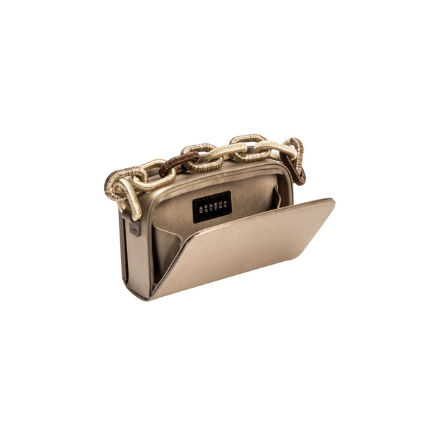 Catena Two-Sided Bag - Electrum