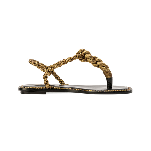 Thory Gold Sandal