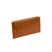 Catena Tan Envelope Clutch