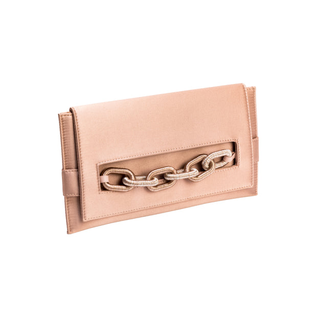 Catena Blush Envelope Clutch