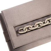 Catena Smoke Envelope Clutch