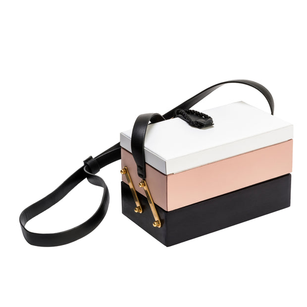 Vanity Colorblock Bag