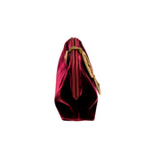 Lia Burgundy Pouch Bag