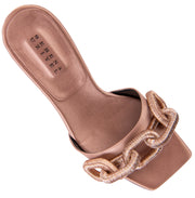 Catena Blush High Heel Sandal