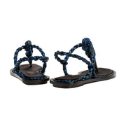Thory Navy Sandal