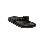 Thory Thong Black Comfort Sandals