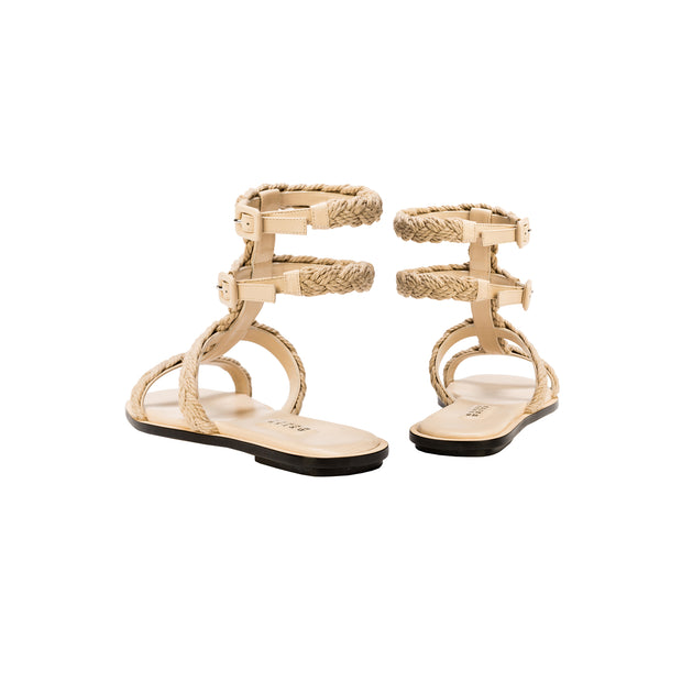 Ronda Nude Ankle Strap Sandal
