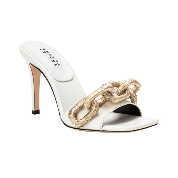 Catena Off-White High Sandal